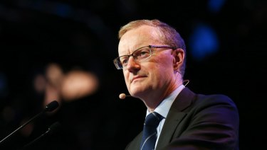 Philip Lowe, governor of the Reserve Bank, said a rise in rates was not yet on the cards.