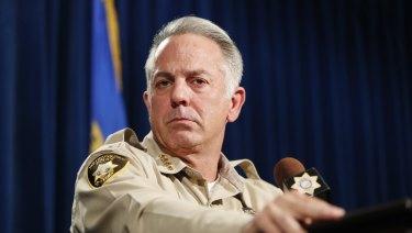 Clark County Sheriff Joe Lombardo