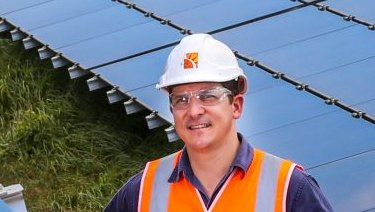 Joining the solar rush: Lance Moody, solar project manager for Sun Metals Corp.