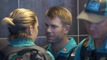 In the firing line: David Warner's teammates have turned on him.