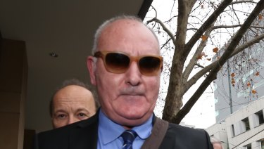 IVF fraudster Raffaele di Paolo outside court after an earlier hearing.