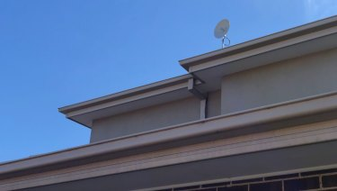 The fixed wireless dish on my roof.