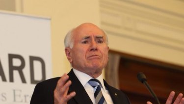 Former prime minister John Howard says funding should be used to force schools to give parents greater rights.