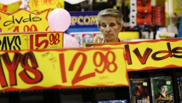 JB Hi-Fi shares fell as much as 10 per cent on Wednesday.