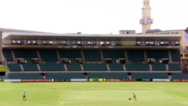 Temporary home: The Bill O'Reilly stand will house Sydney FC's active supporters.
