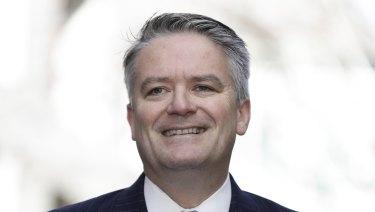 Finance Minister Mathias Cormann.