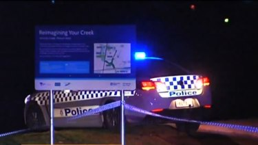 Police investigate after a teenager was stabbed in Melton.