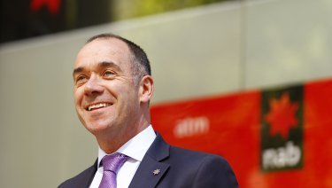 NAB boss Andrew Thorburn says  the bank is working with police on the alleged fraud case.