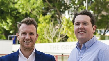 Brothers Paul  (left) and Michael Higgins, the founders of Hello Cars.