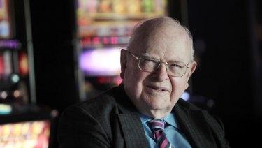 Poker machine billionaire Len Ainsworth.