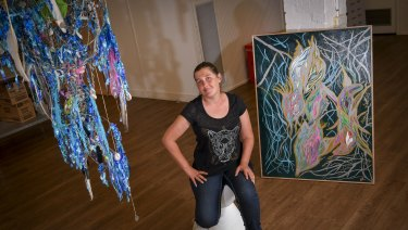 Gail Thompson's art will be one of the 30 pieces showing at Youth Projects' Art and Soul exhibition.