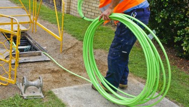 Twenty-one per cent had the NBN but were unhappy with it.