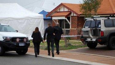 Police have described the crime scene in Ellenbrook as 'horrific'.