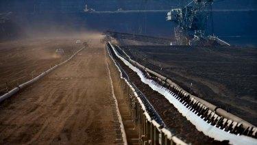Hazelwood coal mine in Morwell.