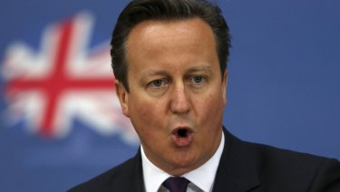 Former British prime minister David Cameron took the UK to the referendum.