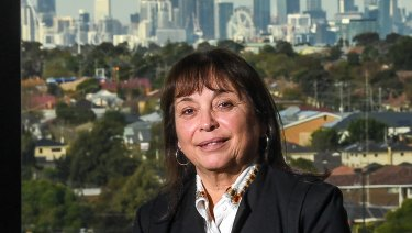 Brimbank mayor Margaret Giudice says the sky is the limit for Sunshine if the airport rail is built.