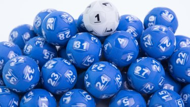 A Melbourne couple had not one but two winning lottery entries.
