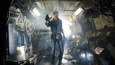 Whose world is this anyway? Scene from the film Ready Player One.