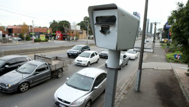Red-light and speed cameras are set to reap $371 million from Victorian drivers next financial year.