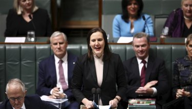 O'Dwyer during Question Time today.
