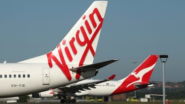 Virgin Australia could afford to ease off on aircraft spending and remain competitive.