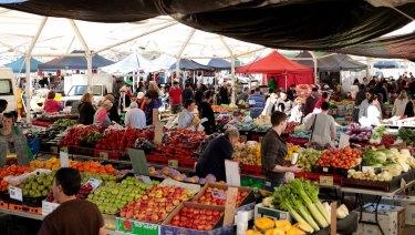 Brisbane Markets at Rocklea hosts Saturday fresh markets and Sunday trash and treasure markets.