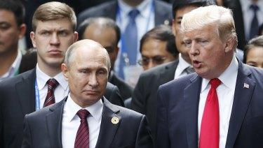 Putin and Trump have met before.