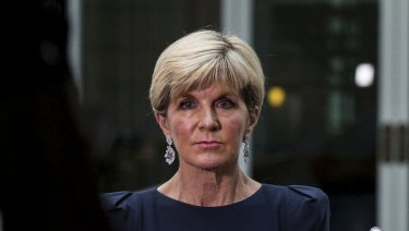 """There are no plans to change that visa program"": Foreign Affairs Minister Julie Bishop."