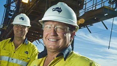"Fortescue chairman Andrew Forrest says Elizabeth Gaines is ""a highly collegiate but decisive leader""."
