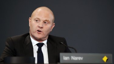 Ian Narev has departed the Commonwealth Bank with $12 million worth of stock.