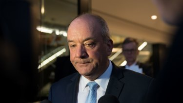 Daryl Maguire has given evidence at an ICAC public inquiry into allegations concerning the former Canterbury City Council.