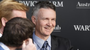 Road to success: Warwick Farm trainer Matthew Smith.