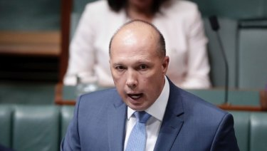 """We have to reduce the numbers"": Minister Peter Dutton."