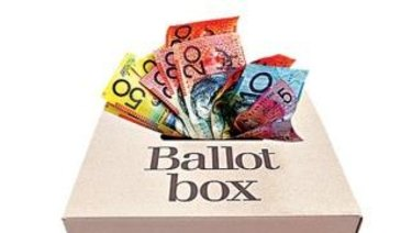 Greens MP Michael Berkman's bill would ban all political donations from for-profit companies.