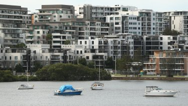 Sydney house prices have declined by 2.1 per cent over the past 12 months.