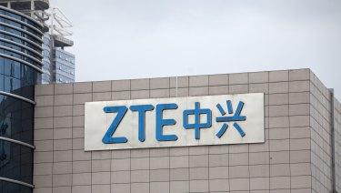 ZTE Corporate headquarters in Shenzhen, China