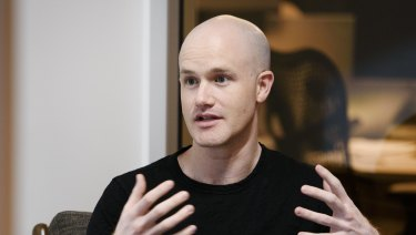 Coinbase co-founder and chief executive Brian Armstrong.