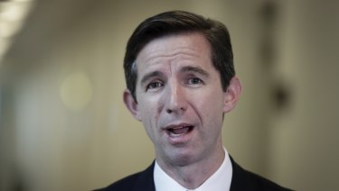 Federal Education Minister Simon Birmingham says the government will keep an eye on the fees.