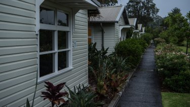 The property on Middle Head Road, Mosman, cited in corporate documents.