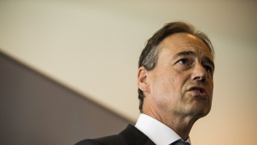 Health Minister Greg Hunt is developing a national action plan for endometriosis.