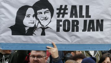 The political crisis was triggered by the slayings of investigative journalist Jan Kuciak and his fiancee Martina Kusnirova.