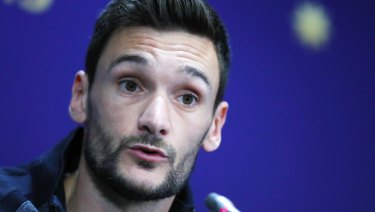 Drowning out the noise: Hugo Lloris.