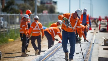 Predictions of a building downturn in the ACT failed to account for recent projects such as the light rail, Master Builders ACT said.