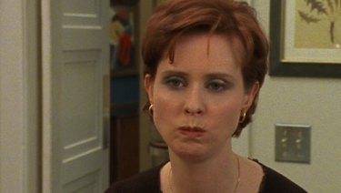 Cynthia Nixon as Miranda Hobbes in Sex and the City, circa 1998.