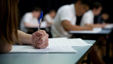 Some students are disadvantaged by the fact English is included in their ATAR calculation.