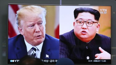 Trump will know about Kim's intentions, he says.