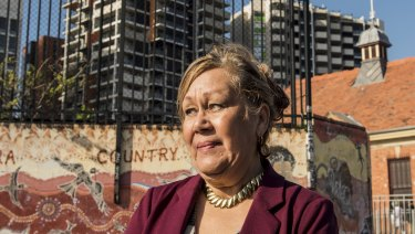 Aunty Norma Ingram, in Redfern, is Labor's new candidate for the seat of Newtown.