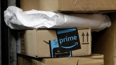Amazon has found a new way to deliver its parcels.