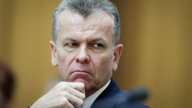 Australian Security Intelligence Organisation deputy director general Peter Vickery at the hearing.