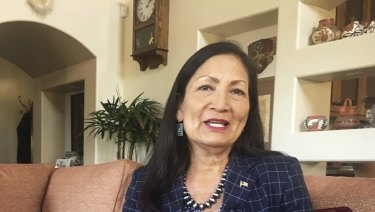 Deb Haaland, a Democratic candidate for Congress for central New Mexico's open seat.